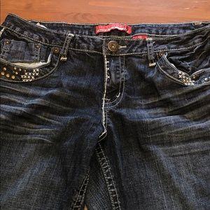💋5/25💋 Zana Di Dark Wash Flared Jeans